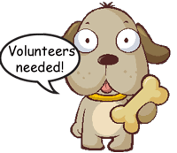 PACC911 dog volunteers